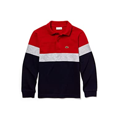Vêtements Enfant Pj9846 Longues Lacoste Manches Polo q6wYP7X