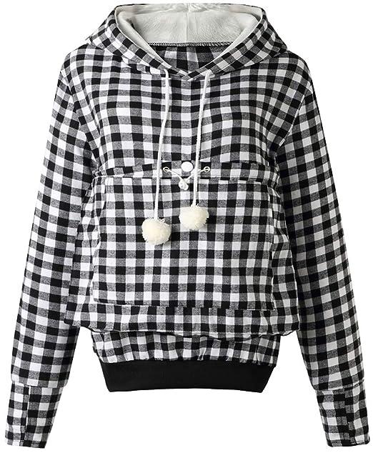 Amazon.com: Sudadera con capucha para mujer con diseño de ...