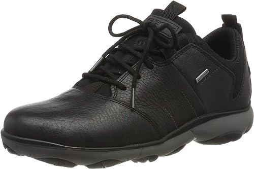 completamente elegante gran selección de 2019 obtener nueva Amazon.com | Geox Men's Nebula 4x4 ABX Trainers Black | Shoes