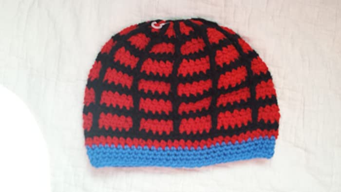 Amazon Spiderman Inspired Boys Winter Hat All Handmade