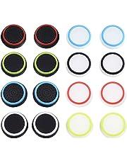 Joystick Thumbstick Kappen Aufsätze Schutzkappe aus Silikon für PS4, Xbox 360, PS3 Controllers (8 Paar Mischfarben)