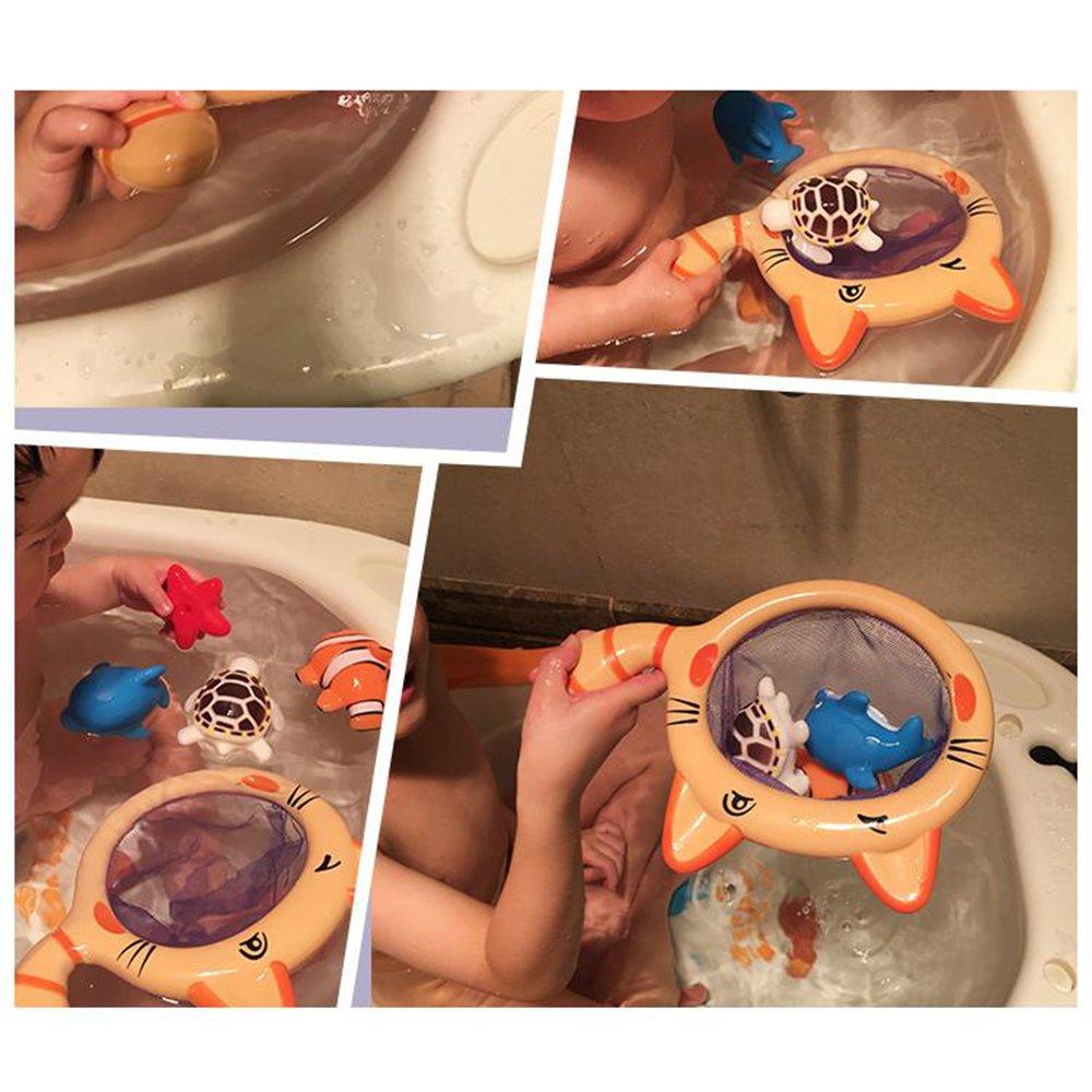 Amazon.com : 5 pcs/ 1 Pack Fishing Beach Water Set Baby Bath Toys ...