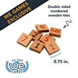 WE Games Replacement Wooden Sudoku Number Tiles
