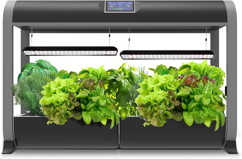 AeroGarden Farm 24Basic Indoor Hydroponic Garden with Heirloom Salad Greens Seed Kit