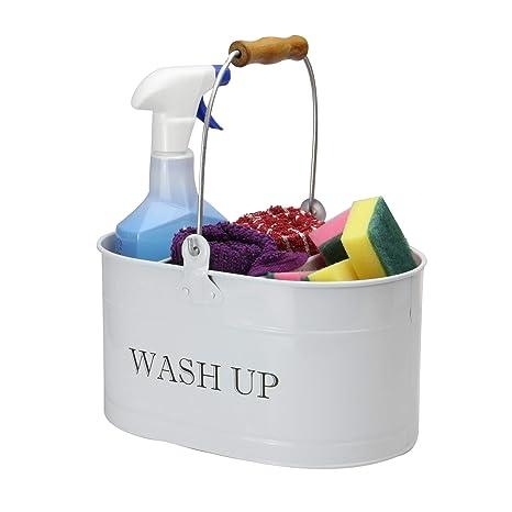 Aufgeräumt waschen Reinigungsorganisator Vintage Küchenaccessoires