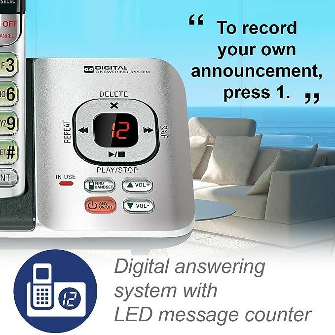 Amazon.com: Teléfono inalámbrico VTech DECT ...