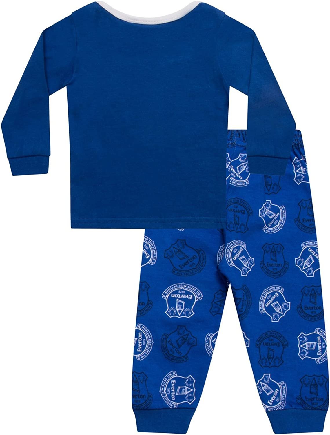 Everton FC Official Soccer Gift Boys Kids Baby Pajamas