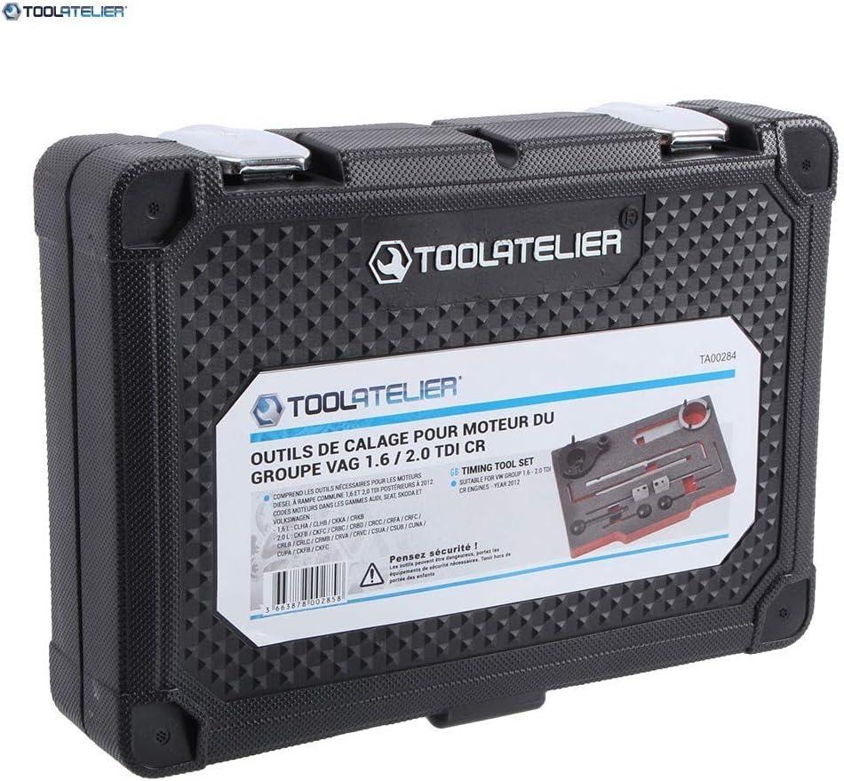 Herramientas de calado para motor del grupo VAG 1.6-2.0 TDi CR TOOLATELIER