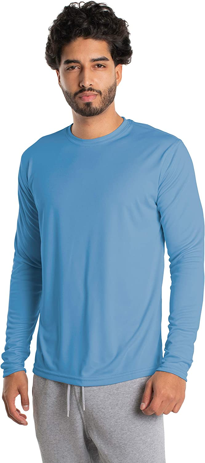 Vapor Apparel Men's UPF 50+ UV Sun Protection Long Sleeve Performance T-Shirt for Sports and Outdoor Lifestyle: Clothing