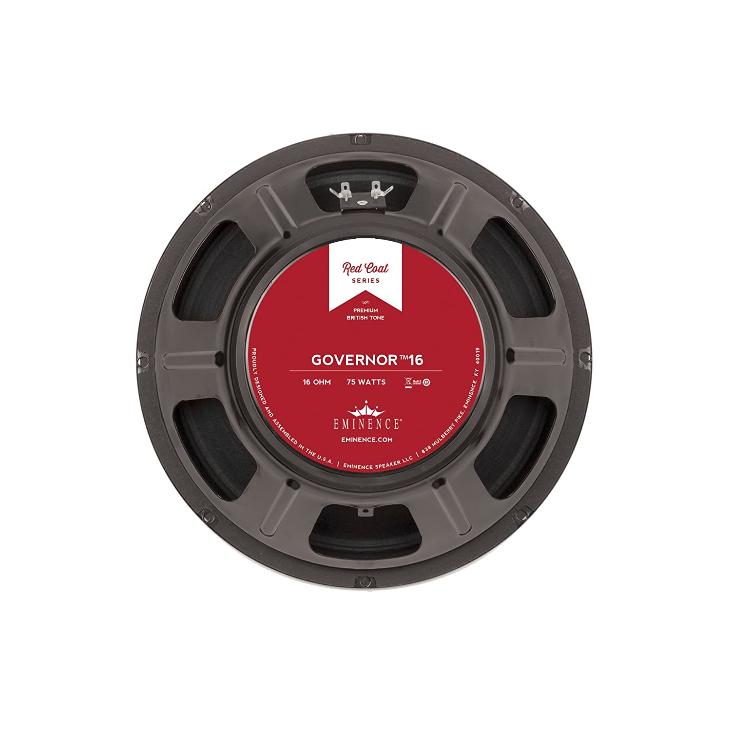 Eminence THEGOVERNOR 12-Inch Lead//Rhythm Guitar Speakers