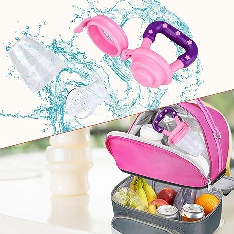 Jallysia Pack de 3 comederos para bebé, de silicona, para ...