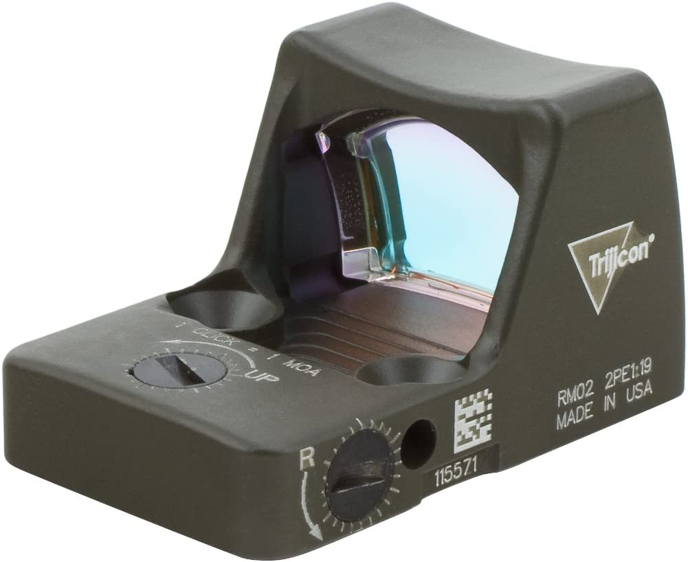 Trijicon RMR//LED RMR Type 2 3.25 MOA LED Red Dot Sight