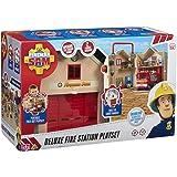 Colourful Simba 109251059 Feuerwehrmann Sam Mega-Feuerwehrstation XXL Fireman Fire Station