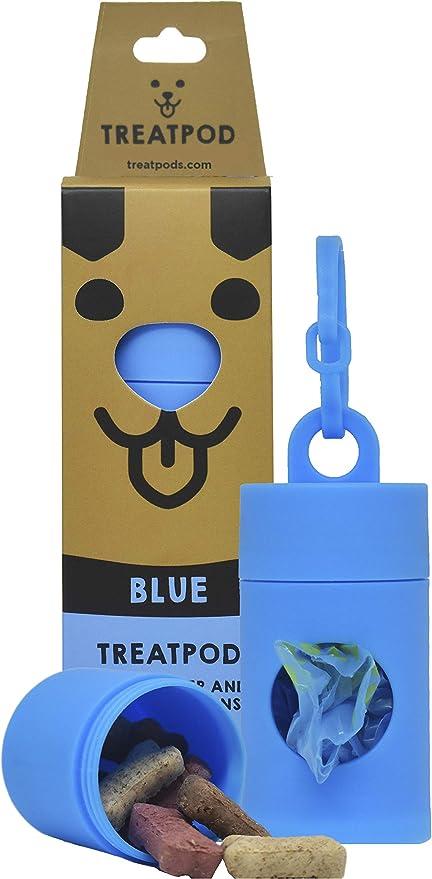 Dog Waste Bag Dispenser Blue Poop Bag Holder