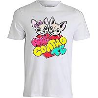 T-Shirt Maglietta Me Contro Te Logo -Slime-Kira E Ray- SOFI E Lui- Replica (disp. 5 Varianti) novità 2019 !