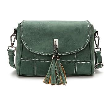 DEERWORD Bolsos para mujer Shoppers y bolsos de hombro Bolsos bandolera Carteras de mano con asa: Amazon.es: Equipaje