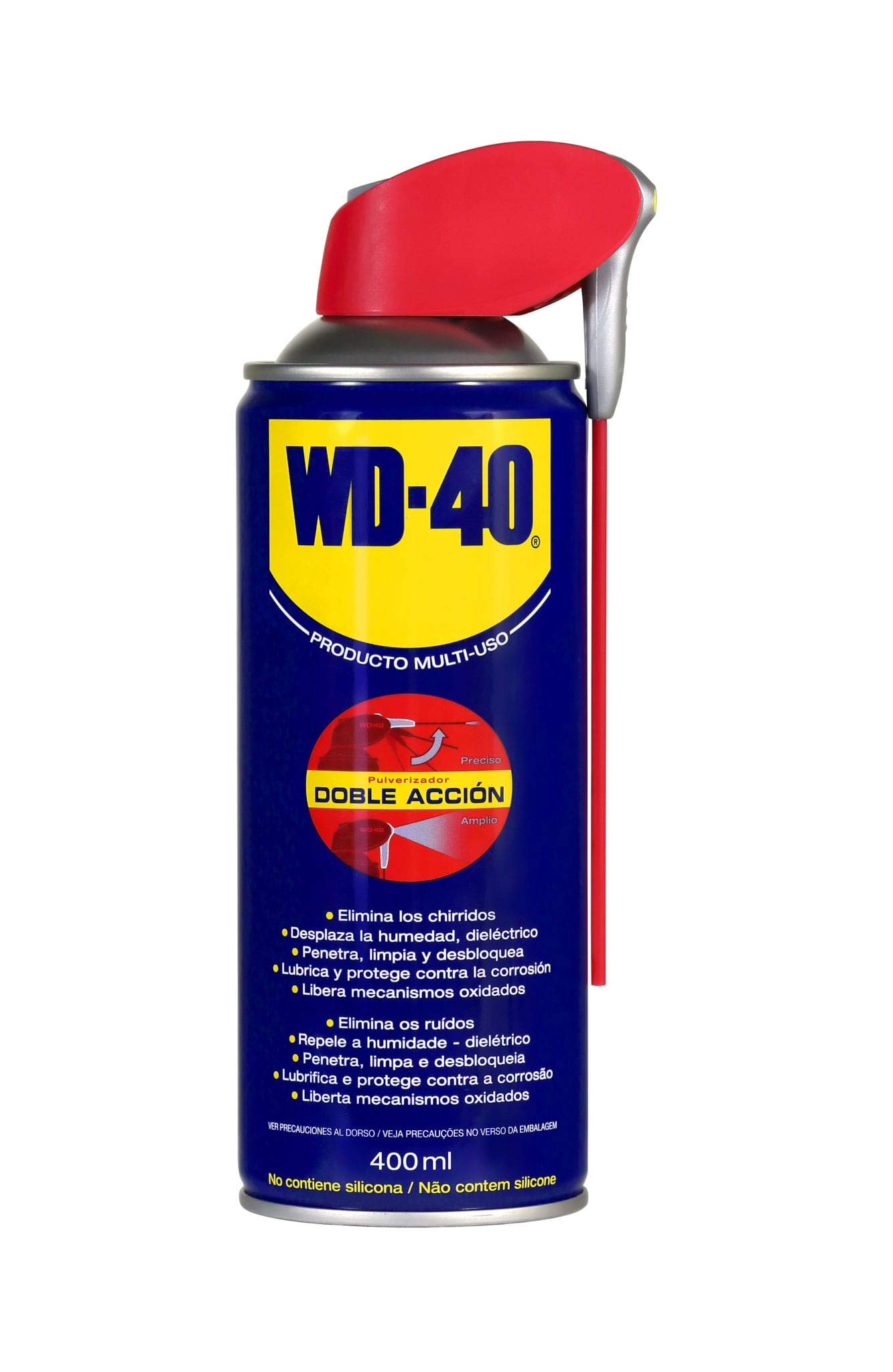 WD-40 Producto Multi-Uso Doble Acción, 400 ml product image