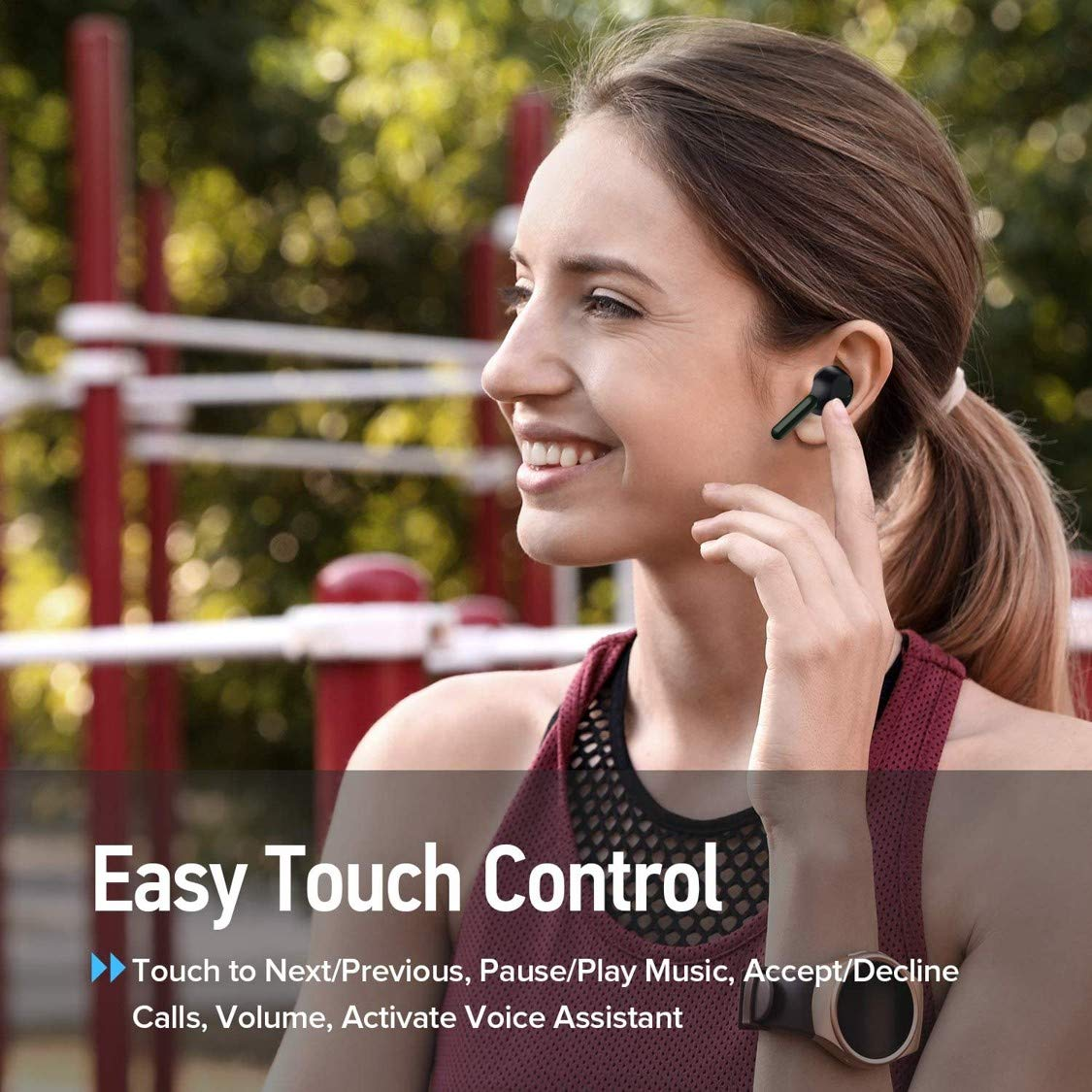 Tessco IBuds-404 true wireless bluetooth earbud