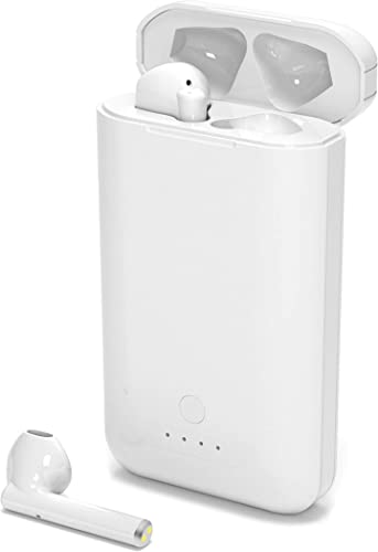 Wireless Bluetooth Earbuds, Fatiya True Wireless Earbuds with 5000mAh Charging Case as Power Bank, Portable Bluetooth 5.0 Touch-Control Headphones with MIC, 100H Playtime for Phone
