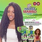 "Janet Havana Mambo Twist Braid 8pcs (10""+10""+12""+12""+16""+16""+18""+18"")"