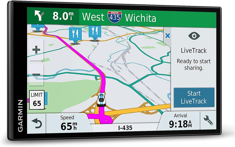 Garmin DriveSmart 61 LMT-S Fijo 6.95 TFT Pantalla t/áctil 243g Negro navegador Multi, Europa del Sur, 17,6 cm 6.95 , 1024 x 600 Pixeles, TFT, Horizontal Navegador GPS