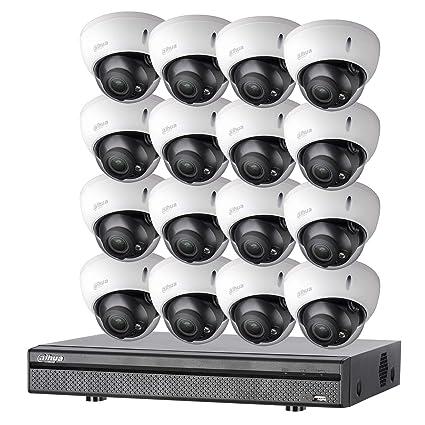 Dahua – Kit EVO 16 Dom B 720p-2to – Pack videovigilancia 16 Cámaras Domo