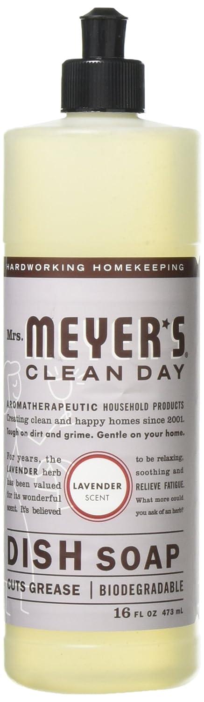 Mrs. Meyer's - Clean Day Liquid Dish Soap Lavender - 16 oz.3 Pack