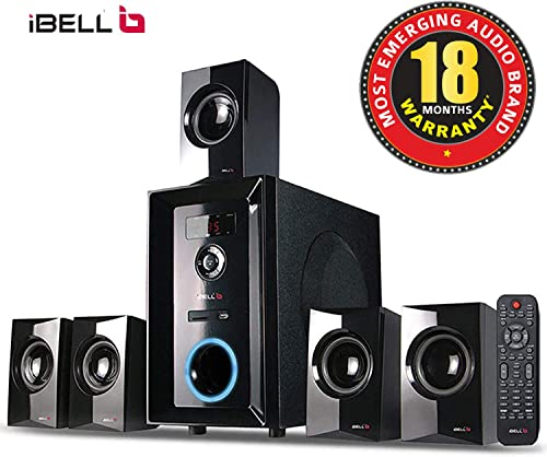8. iBELL 2049 DLX 5.1 Home Theater Multimedia Speaker System