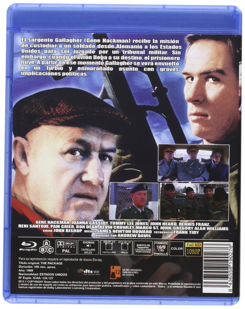 A La Caza Del Lobo Rojo BD [Blu-ray]: Amazon.es: Gene Hackman ...