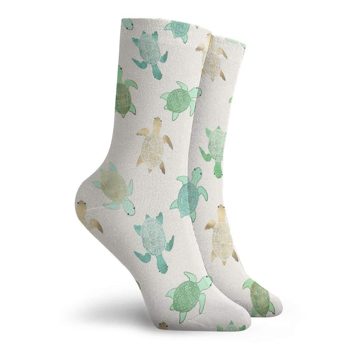 Tortoise Unisex Funny Casual Crew Socks Athletic Socks For Boys Girls Kids Teenagers