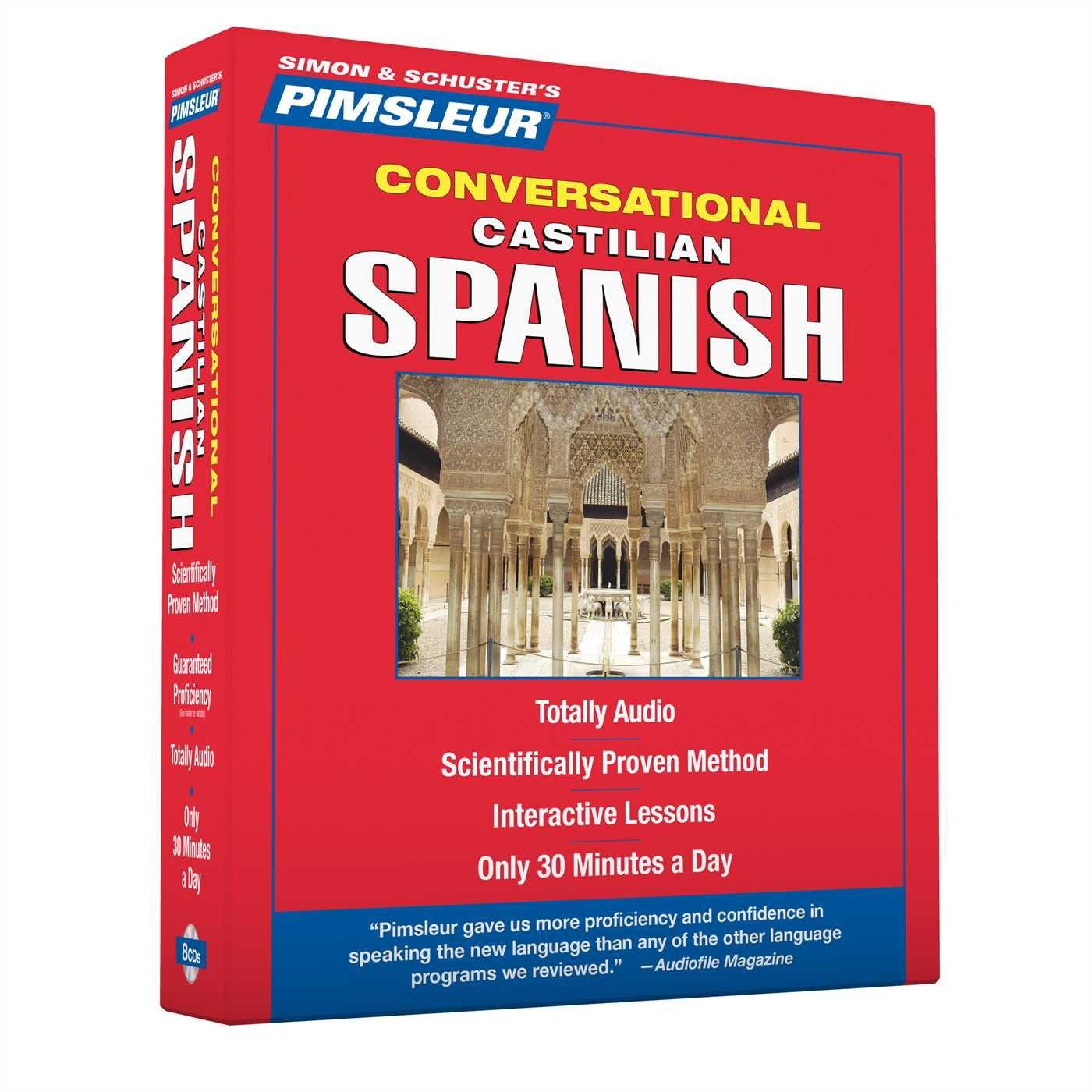 Pimsleur Spanish Castilian Conversational Course