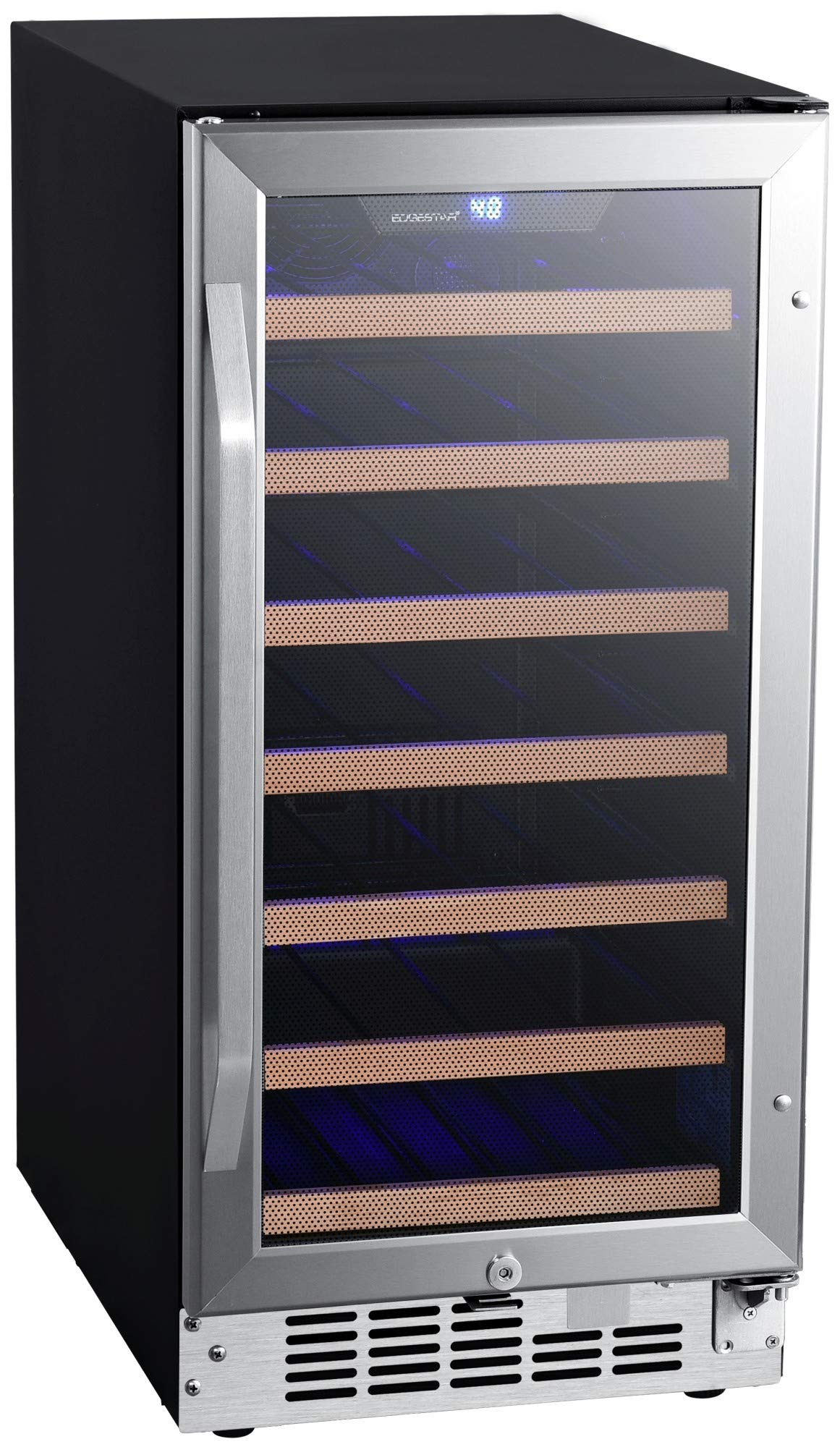 EdgeStar CWR302SZ 15 Inch Wide 30 Bottle Built-In Wine Cooler