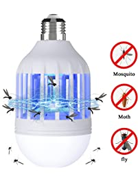 Good Bug Zapper Light Bulb, 2 In 1 Electronic Insect Killer, Mosquito Killer  Lamp,