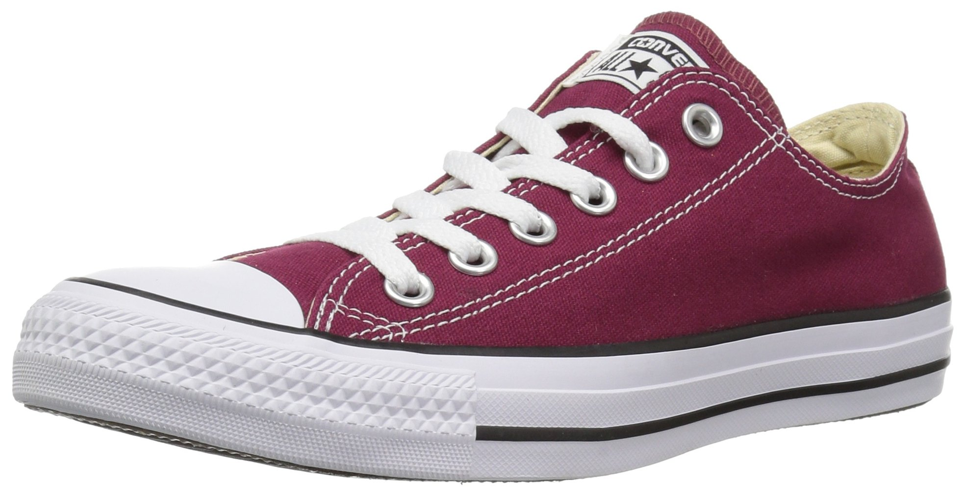Converse Chuck Taylor All Star 2018 Seasonal Low Top Sneaker, Maroon, 6 M US by Converse