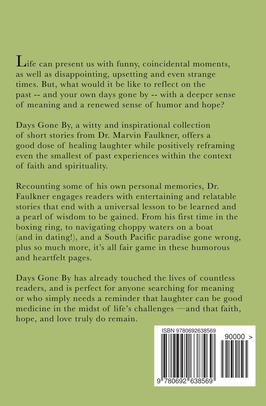 Days Gone By- A Collection of Inspirational Short Stories