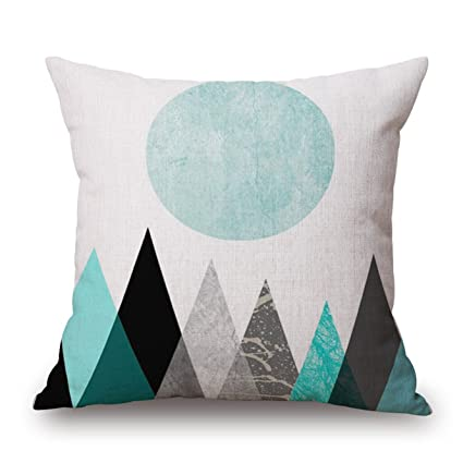 Amazon Sofa Bed Pillow Protect CoverArroker Home Indoor Chair Impressive Teal Decorative Bed Pillows
