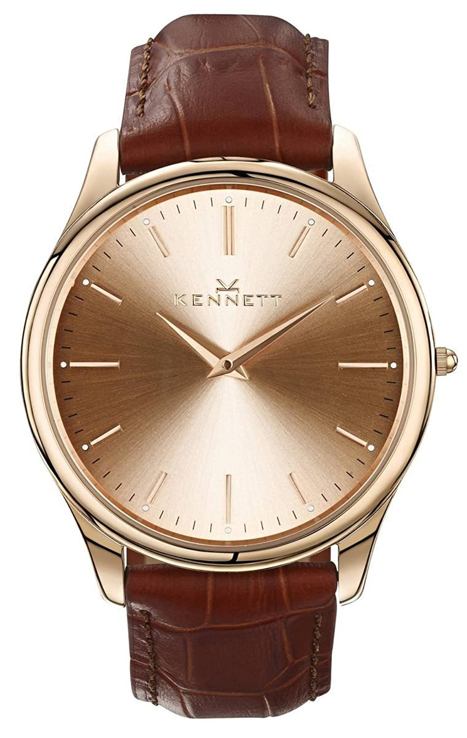 Kensington Rose Gold Light Braun Gurt