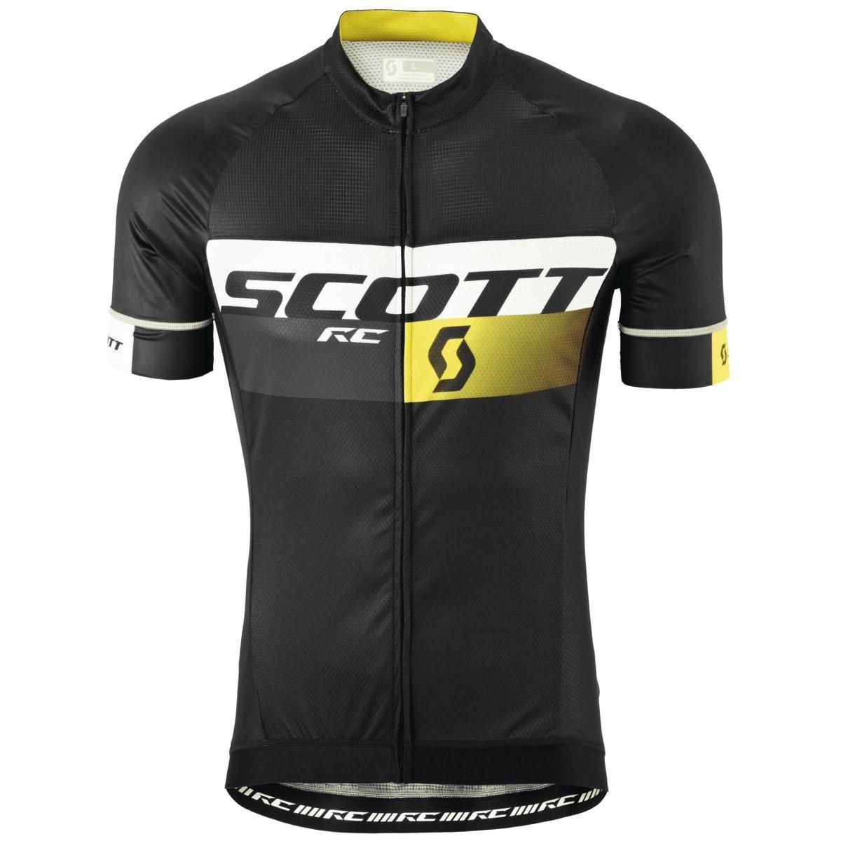 SCOTT(スコット) Shirt RC Pro s/sl bk/rc yl S 2386922187006 ブラック/RCイエロー S