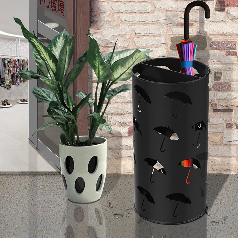 Farbe : Orange Umbrella standDY Dongy Regenschirm Muster Round Small Insdoor Modern Schirmst/änder 25x50cm 9.8x19.7 Zoll