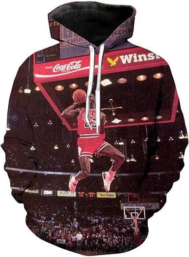 3D Jordan Hoodies Sweatshirt Crewneck Hoodie Casual Men ...