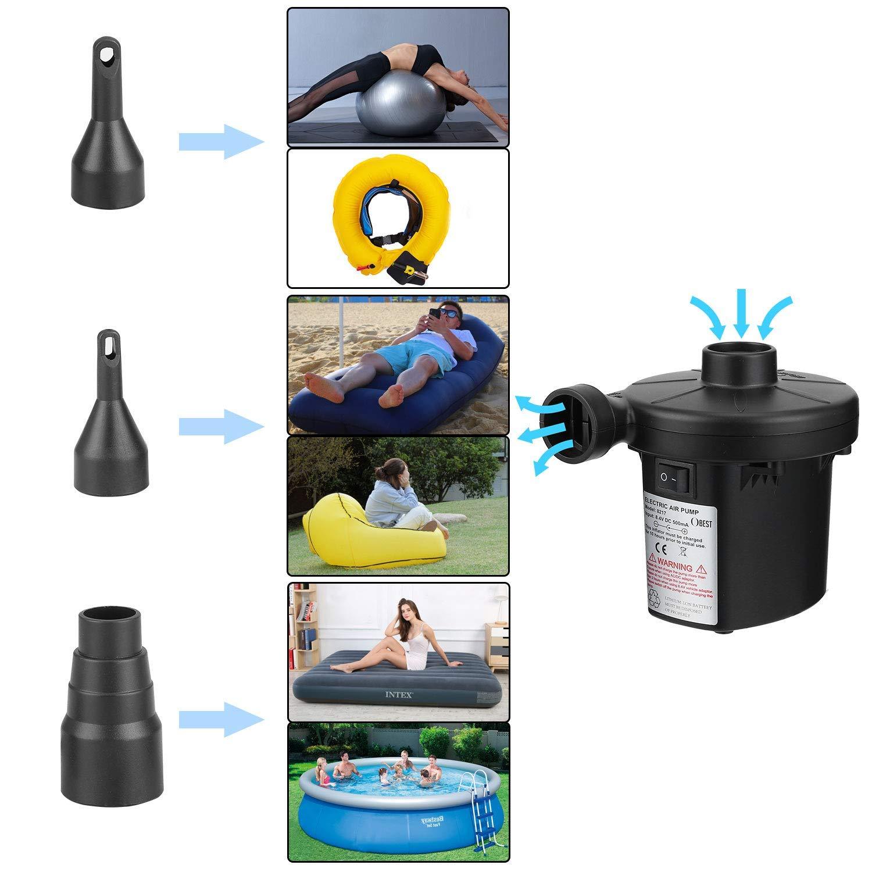 Amazon.com: BEST4U USB Rechargeable Air Pump,Portable ...