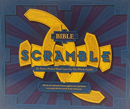 Amazon com: Bible Scramble Game: Toys & Games