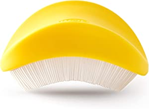 Chef'n 5255880 Silkster Corn Vegetable Brush, Removes Silk, Yellow