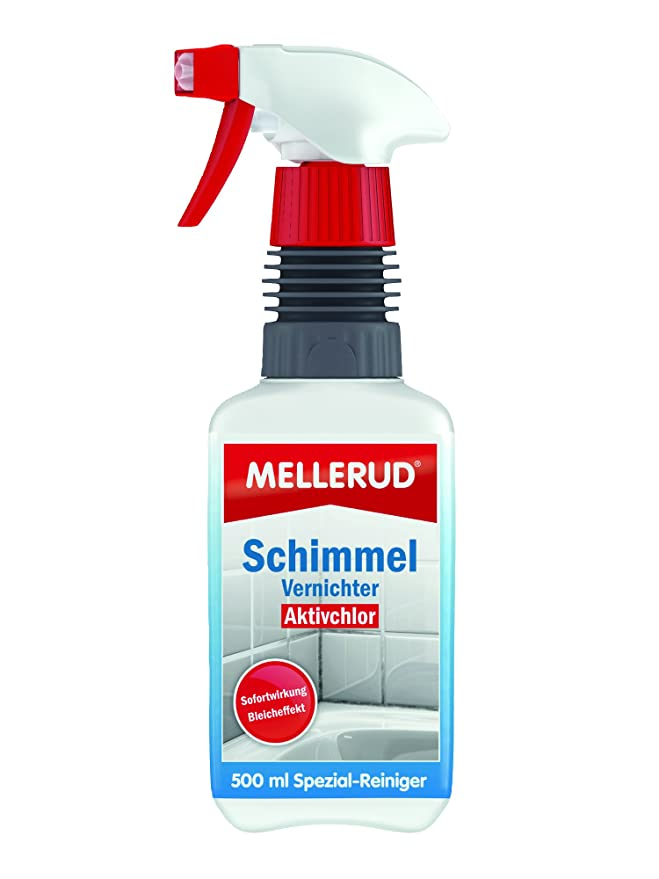 Superior MELLERUD Schimmel Vernichter Chlorhaltig 0.5 L 2001000097: Amazon.de:  Baumarkt