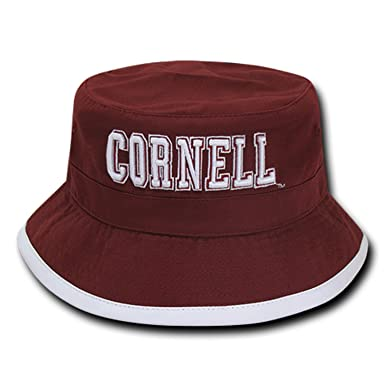 79830709eef108 University of Cornell Bears NCAA Bucket Jungle Safari Officially Licensed Fishing  Hat (S/M