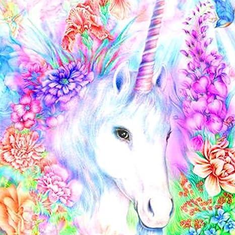 DIY 5D Diamond Painting Kit Unicorn Crystal Embroidery Cross Stitch Arts...