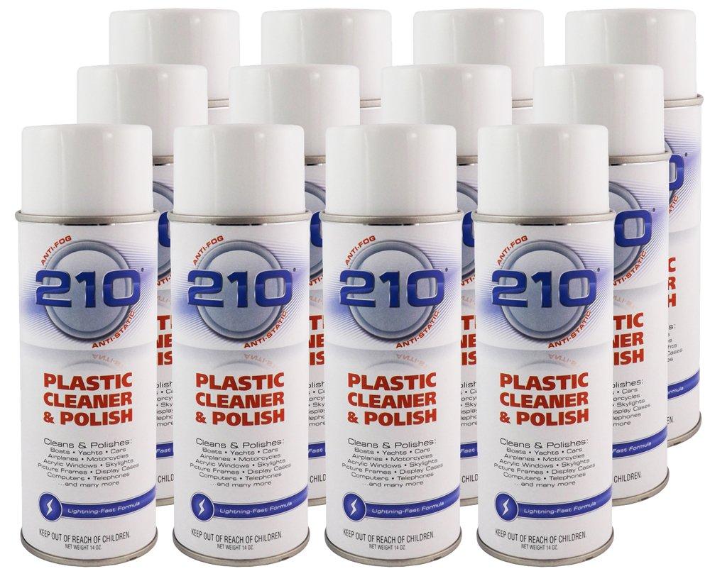 Sumner Laboratories 23304C-12PK 210 Plastic Cleaner/Polish Aerosol - 168 fl. oz., 12 Pack