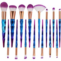 Gillberry Brush Set Professional 15 Pieces Eye Makeup Brushes for Shading or Blending of Eyeshadow Cream Powder Eyebrow Highlighter Concealer Cosmetics Brush Tool