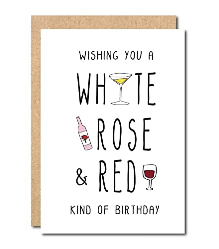 Wine Birthday Card Mum Sister Friend Funny Amazon Handmade