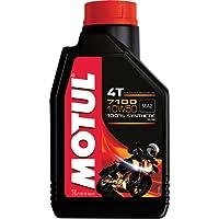 Motul 7100 4T 10W50 API SN Fully Synthetic Ester Petrol Engine Oil for Bikes (1 L)